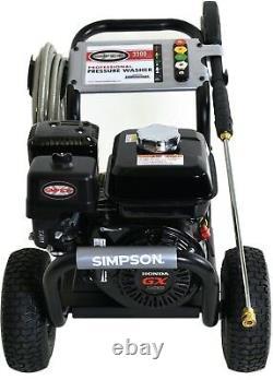 Simpson Powershot 3300 Psi @ 2,5 Gpm Honda Nettoyeur À Pression D'eau Froide Ps3228-s