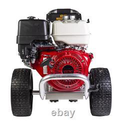 Soyez Professionnel 4000 Psi (eau Froide À Gaz) Laveuse Pression Avec Honda Gx390 Fr